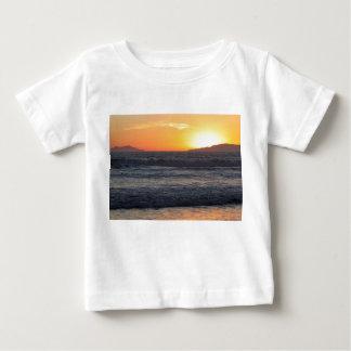 Sunset Waves Baby T-Shirt