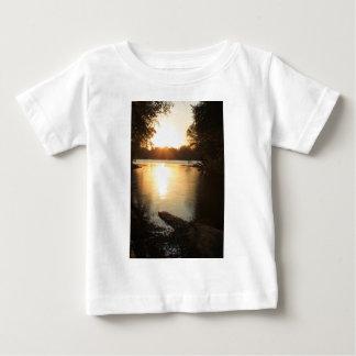 Sunset Where 3 rivers Meet Baby T-Shirt