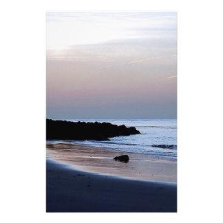 Sunset White Water Stationery