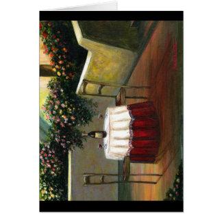 Sunset Wine Greeting Cards