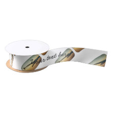 Sunset wing satin ribbon