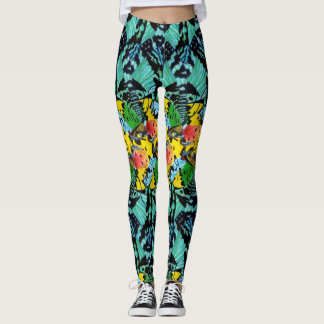 Sunset Wings Leggings