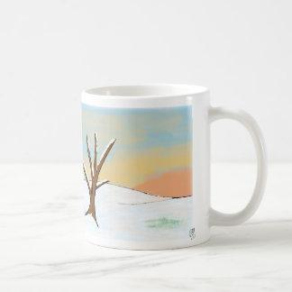 Sunset Winter Scape Coffee Mug