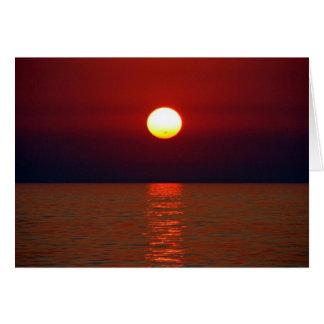 Sunset Wisdom Greeting Card