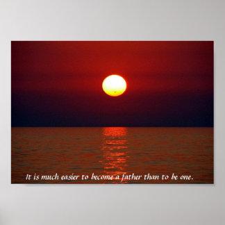 Sunset Wisdom Print
