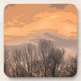 Sunset with Bare Trees fuji_coaster