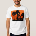 Sunset with Palm T-shirt