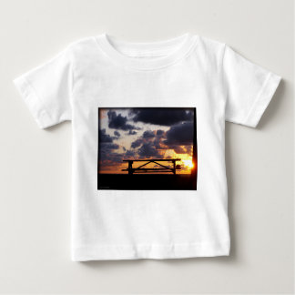 Sunset with Picnic Table Baby T-Shirt