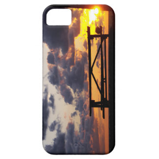 Sunset with Picnic Table iPhone 5 Case