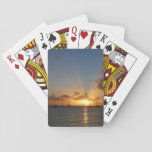 Sunset with Sailboats Card Deck