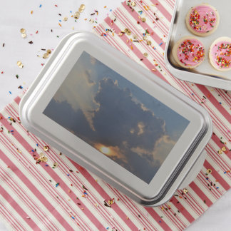 Sunset with Teacup Cloud Formation by STaylor Cake Pan