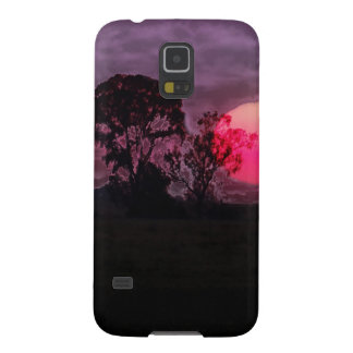 Sunset With Tree Galaxy S5 Case