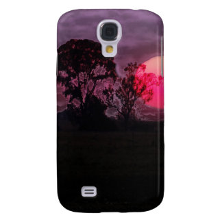 Sunset With Tree Samsung Galaxy S4 Case