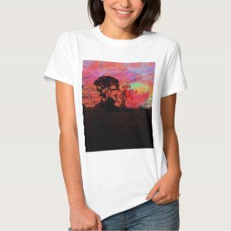 Sunset With Tree Shirt