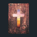 "Sunset wood cross iPad mini cover<br><div class=""desc"">Sunset wood cross #sunset #wood #god #cross #spirituality #vintage #landscape #jesus #dream #boho #religion #cute #cool #sea #beautiful #pattern #nautical #crucifix #wooden #religious #beach</div>"