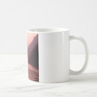 Sunset Wu Gorge Yangtze River China Coffee Mug