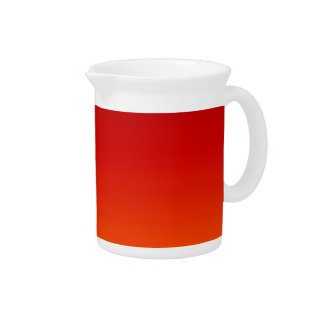 SUNSET (yellow orange evening color fade) ~ Beverage Pitcher