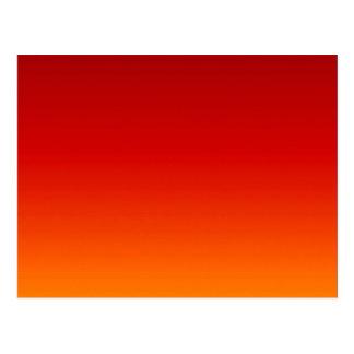 SUNSET (yellow orange evening color fade) ~ Postcard