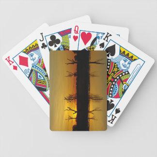 Sunset, Yellow Water Billabong 2 Bicycle Playing Cards