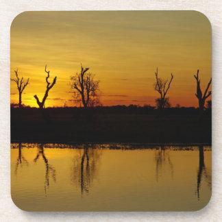 Sunset, Yellow Water Billabong 2 Drink Coaster