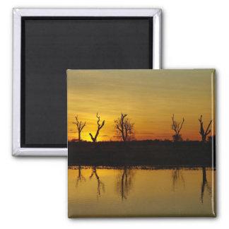 Sunset, Yellow Water Billabong 2 Magnet