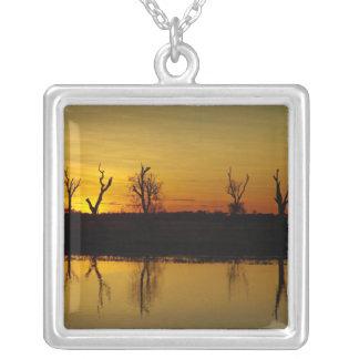 Sunset, Yellow Water Billabong 2 Pendant