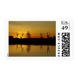 Sunset, Yellow Water Billabong 2 Postage