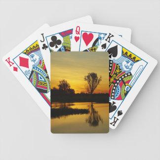 Sunset, Yellow Water Billabong 3 Bicycle Playing Cards