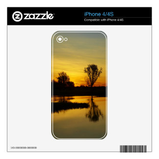 Sunset, Yellow Water Billabong 3 Decal For The iPhone 4S
