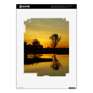Sunset, Yellow Water Billabong 3 Decals For iPad 3