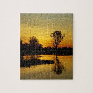 Sunset, Yellow Water Billabong 3 Jigsaw Puzzle