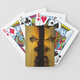 Sunset, Yellow Water Billabong Bicycle Playing Cards