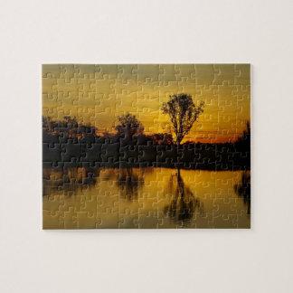 Sunset, Yellow Water Billabong Jigsaw Puzzle