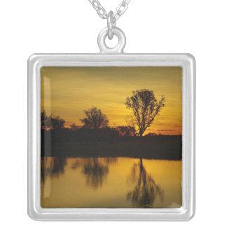 Sunset, Yellow Water Billabong Necklace