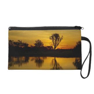 Sunset, Yellow Water Billabong Wristlet