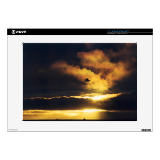 """Sunset Zazzle Skin Decals For 15"""" Laptops"""