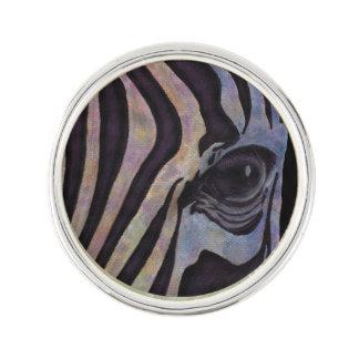 Sunset Zebra Lapel Pin (Lori Corbett)