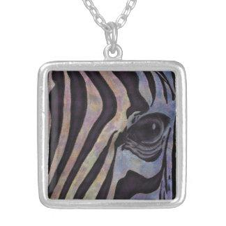 Sunset Zebra Necklace (Lori Corbett)