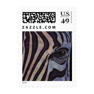 Sunset Zebra Postage (Lori Corbett)