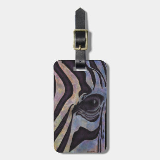 Sunset Zebre Luggage Tag (Lori Corbett)