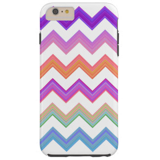 Sunset zigzag tough iPhone 6 plus case