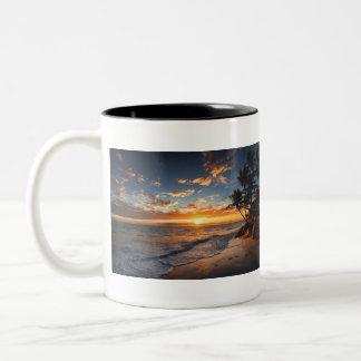 SunsetFeeling Two-Tone Coffee Mug