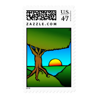 SunSetRise1 Postage Stamp
