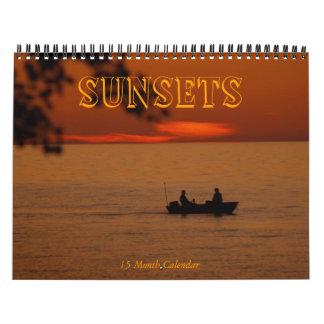 SUNSETS-2011-2012 / 15 Month Calendar