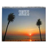 sunsets 2021 calendar