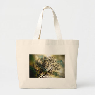 Sunsets and Silhouettes Large Tote Bag