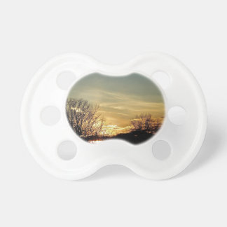 Sunsets and Silhouettes Pacifier