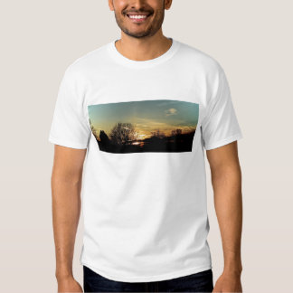 Sunsets and Silhouettes T Shirts