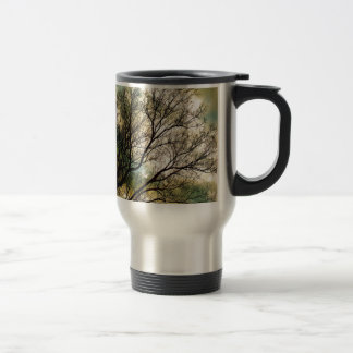 Sunsets and Silhouettes Travel Mug