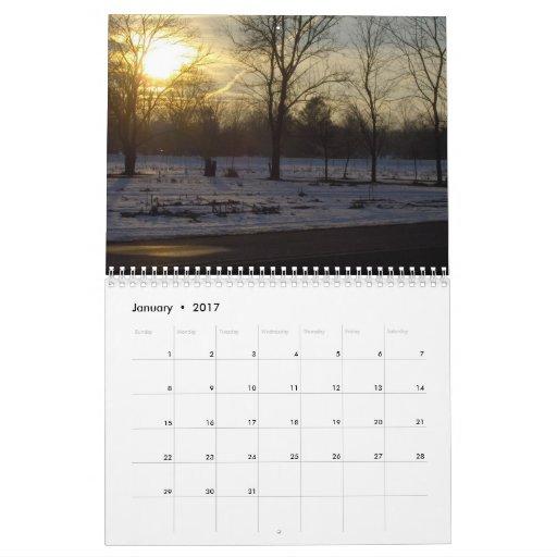 Sunsets and Sunrises Calendar